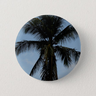 Palm Tree 6 Cm Round Badge