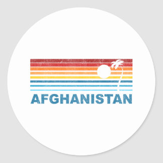 Palm Tree Afghanistan Stickers