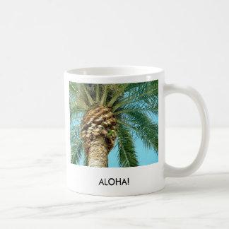 Palm Tree, ALOHA! - mug