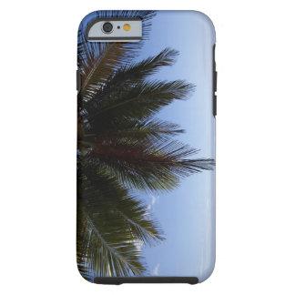 Palm tree along Caribbean Sea. Tough iPhone 6 Case