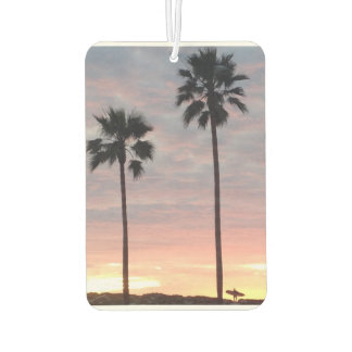 Palm Tree and Surfer Air Freshener