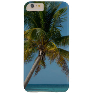 Palm tree and white sand beach  2 barely there iPhone 6 plus case