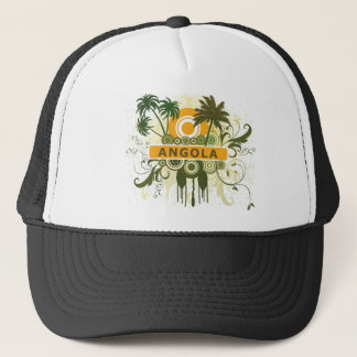 Palm Tree Angola Trucker Hat