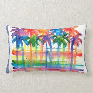 Palm Tree Art Pillow