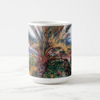 Palm Tree at Bordighera - Claude Monet Coffee Mugs