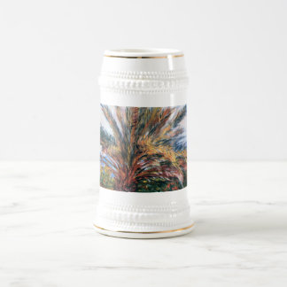 Palm Tree at Bordighera - Claude Monet Coffee Mug