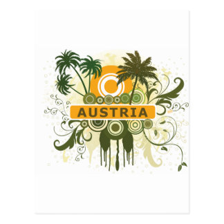 Palm Tree Austria Postcard