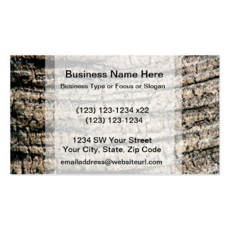 palm tree bark neat wood  tree texture image business card template