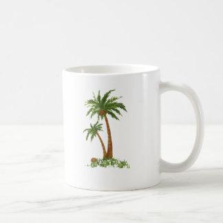 PALM TREE BASIC WHITE MUG