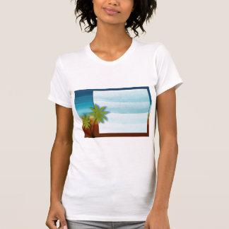 Palm Tree / Beach theme wedding / event T-shirts