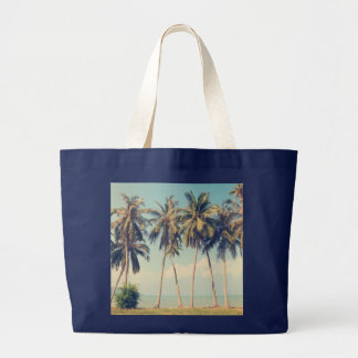 Palm Tree Beach Vacation Bag