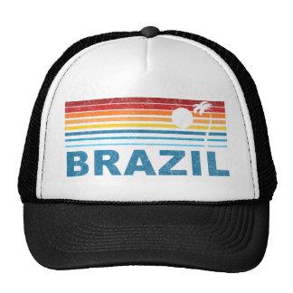 Palm Tree Brazil Trucker Hats