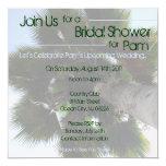 Palm Tree Bridal Shower Invite