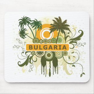 Palm Tree Bulgaria Mouse Pad