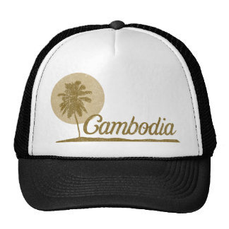 Palm Tree Cambodia Cap