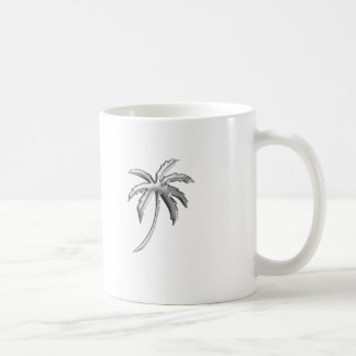 Palm Tree Coffee Cup Basic White Mug