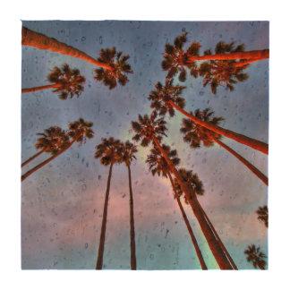 Palm Tree Cork Coasters