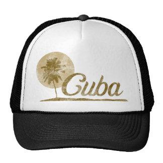 Palm Tree Cuba Cap