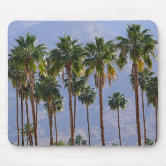 Palm Tree Desert California Palm Springs Mousepad