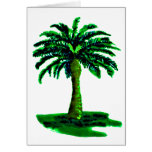 Palm Tree Green The MUSEUM Zazzle Gifts Greeting Cards
