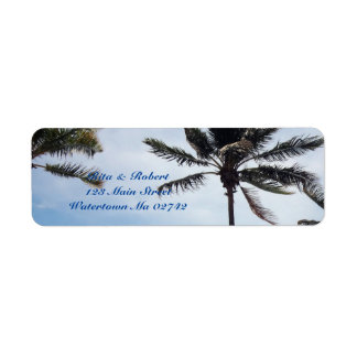 Palm Tree I Mailing Labels