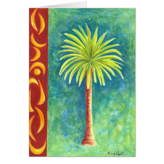 Palm Tree II Card