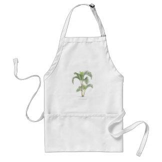 Palm tree illustration collection apron