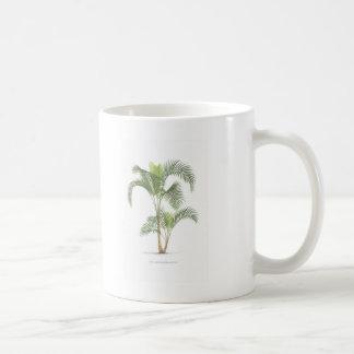Palm tree illustration collection coffee mug