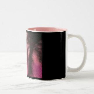 Palm Tree Impressionist Mug
