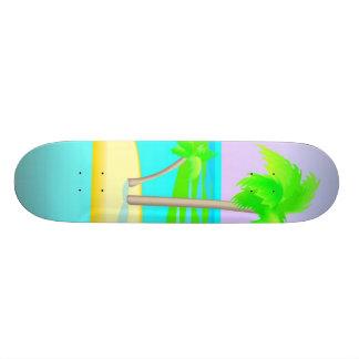 Palm Tree Island Skateboard