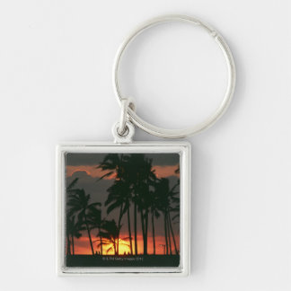 Palm Tree Key Ring