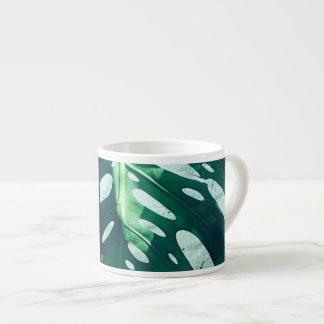Palm tree Leaf Espresso Mug