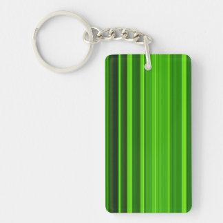 Palm Tree Leaf Texture Key Ring