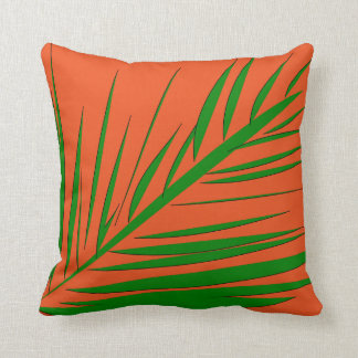 Palm Tree Leaf - Throw Pillow