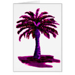 Palm Tree Magenta The MUSEUM Zazzle Gifts Cards