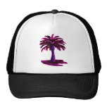 Palm Tree Magenta The MUSEUM Zazzle Gifts Hats