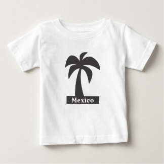 Palm Tree (Mexico Vacation) - Baby Fine Jersey T-S Baby T-Shirt