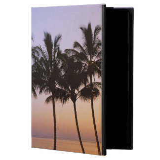 Palm tree, morning cover for iPad air