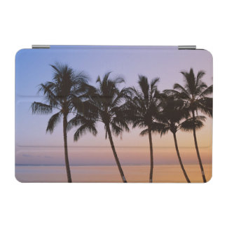 Palm tree, morning iPad mini cover