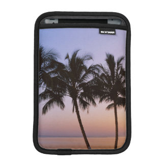 Palm tree, morning iPad mini sleeve