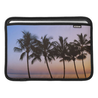 Palm tree, morning sleeve for MacBook air