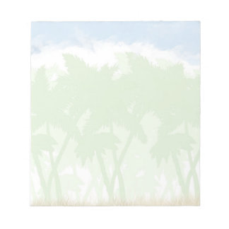 Palm Tree Notepad