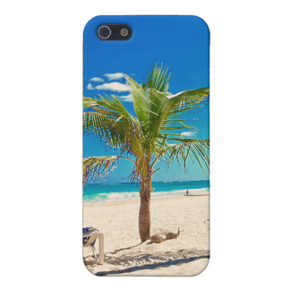 Palm Tree on the Beach iPhone Cover iPhone 5 Cover