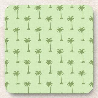 Palm Tree Pattern Drink Coaster