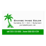 Palm Tree - Personal Business Card