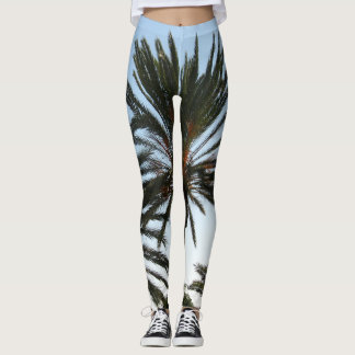 Palm Tree Photo Legging