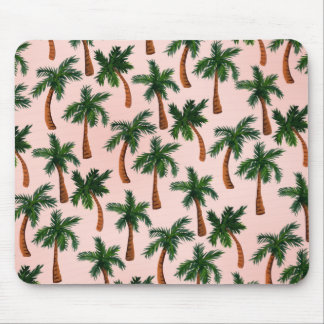 Palm Tree Print Mouse Pad