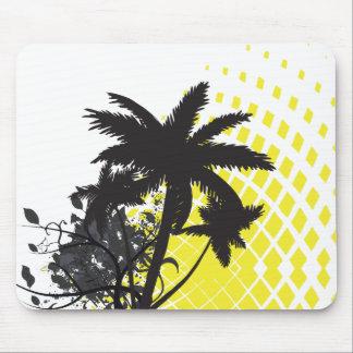 palm tree rays mousepad
