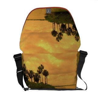 Palm Tree Reverie Medium Courier Bag
