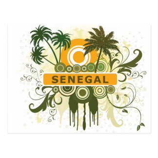 Palm Tree Senegal Postcard